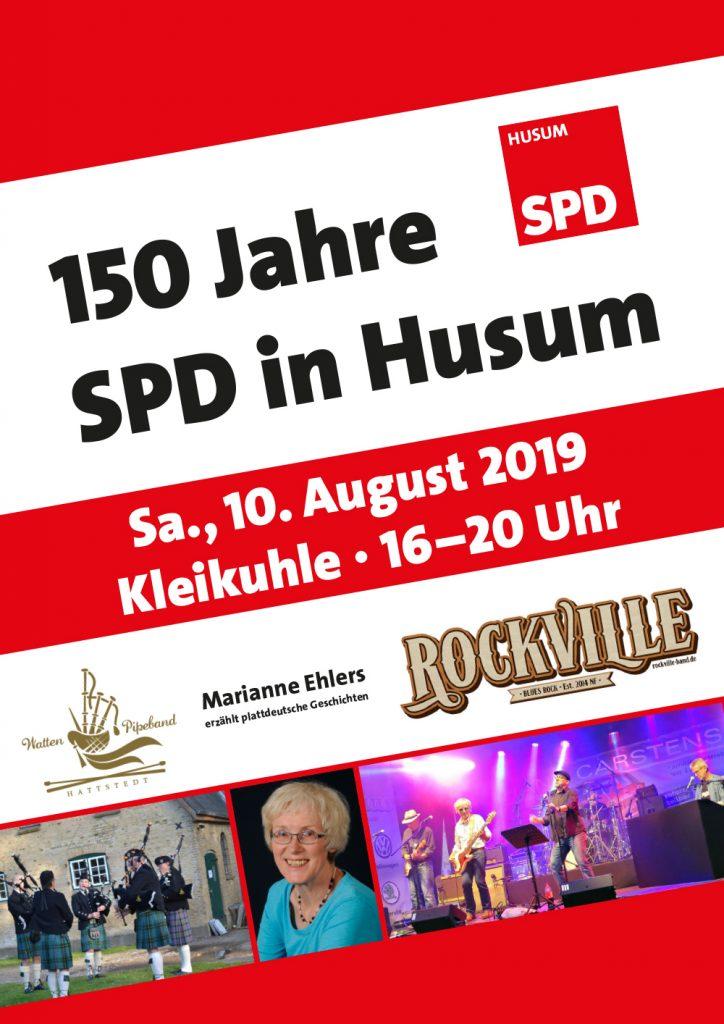 150 Jahre SPD Husum